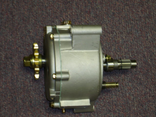 Falcon 150 Complete reverse Gearbox (7 Hole Assembly)