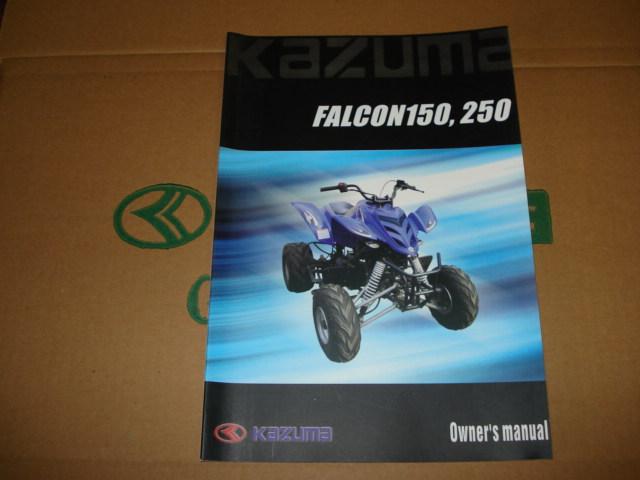 kazuma falcon manual